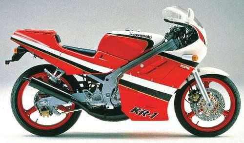 Product picture 1988 Kawasaki KR-1 Motorcycle Workshop Repair Service Manual